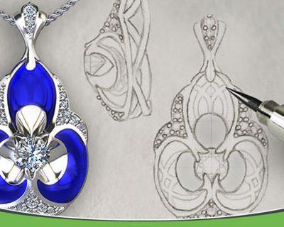 دیزاین طلا و جواهرات مقدماتی
