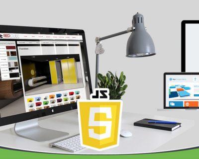 طراحی وب سایت در جاوا اسکریپت