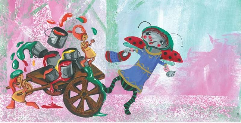 نمونه کار استاد دوره تصویرسازی کتاب کودک
