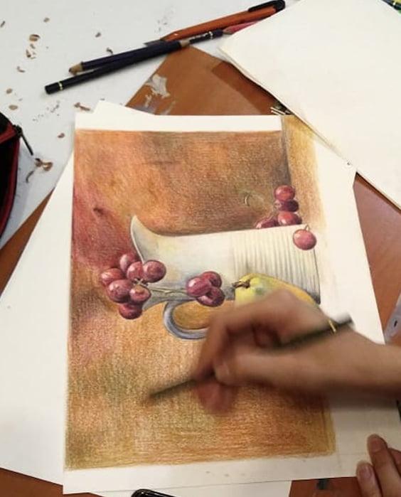 نمونه کار هنرجو دوره تصویرسازی