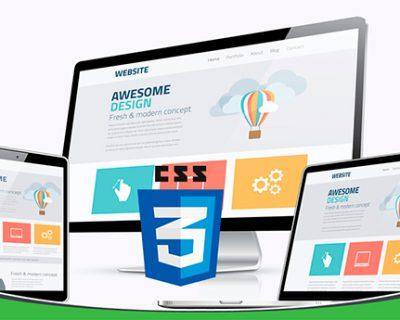 طراحی وب سایت در css