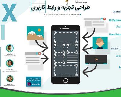 طراحی UX.UI تجربه کاربری / رابط کاربری