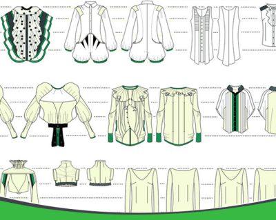 آشنایی با تکنیک در طراحی لباس