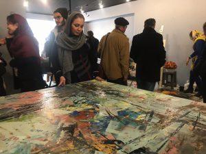 ورکشاپ-یک-روزه-هنرمندان-نقاش-مدرسه-ایده-۶-افسون منتظری