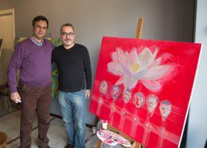 ورکشاپ-یک-روزه-هنرمندان-نقاش-مدرسه-ایده-۶-اهورا محمدی