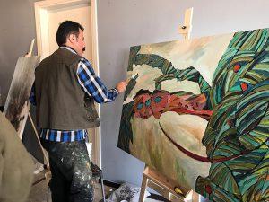 ورکشاپ یک روزه هنرمندان نقاش-گالری ایده ۳