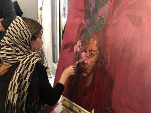 ورکشاپ یک روزه هنرمندان نقاش-گالری ایده ۶
