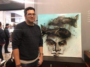 ورکشاپ یک روزه هنرمندان نقاش-گالری ایده ۸