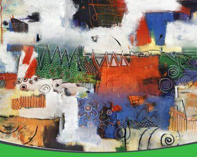 کارگاه نقاشی انتزاعی