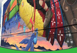 کارگاه نقاشی دیواری