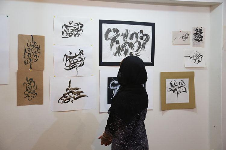 خط-نقاشی-مدرسه-هنری-ایده