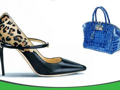 طراحی کیف و کفش و اکسسوری