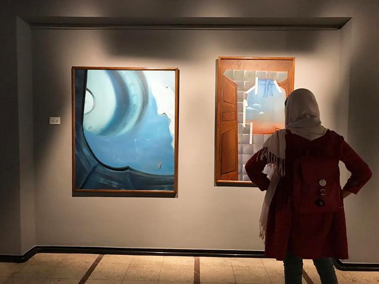 نمایشگاه-نقاشی-زهره-قاضی-حسینی-گالری-ایده۲