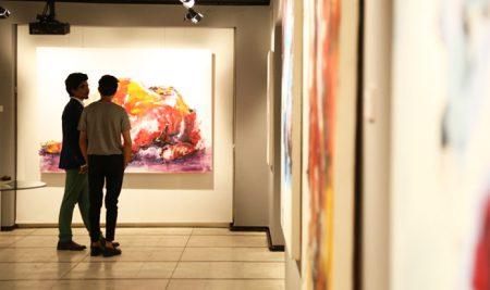نمایشگاه تن مریم مقدم در گالری ایده