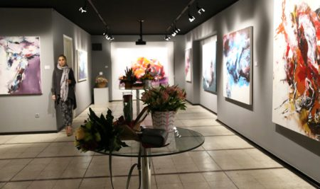 مقاله هنر آنلاین درباره نمایشگاه نقاشی مریم مقدم در گالری ایده