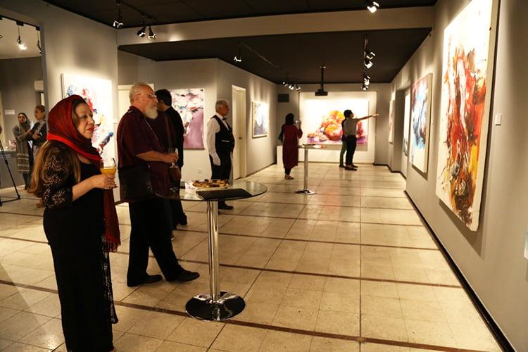 نمایشگاه مریم مقدم در گالری ایده
