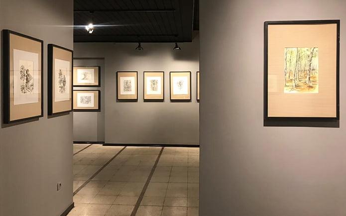 نمایشگاه-آثار-داوود-شیرمحمدی-در-گالری-ایده