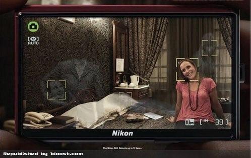 تصویر تبلیغات شرکت نیکون