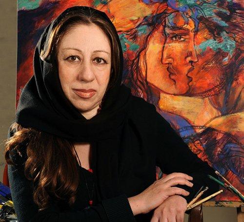 نیلوفر قادری نژاد در گالری ایده
