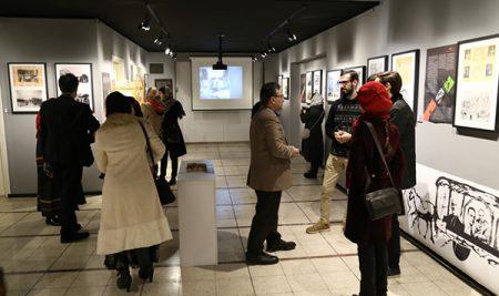 نمایشگاه لاله زار ،چهارراه کنت به هنربانی عباس کتابی