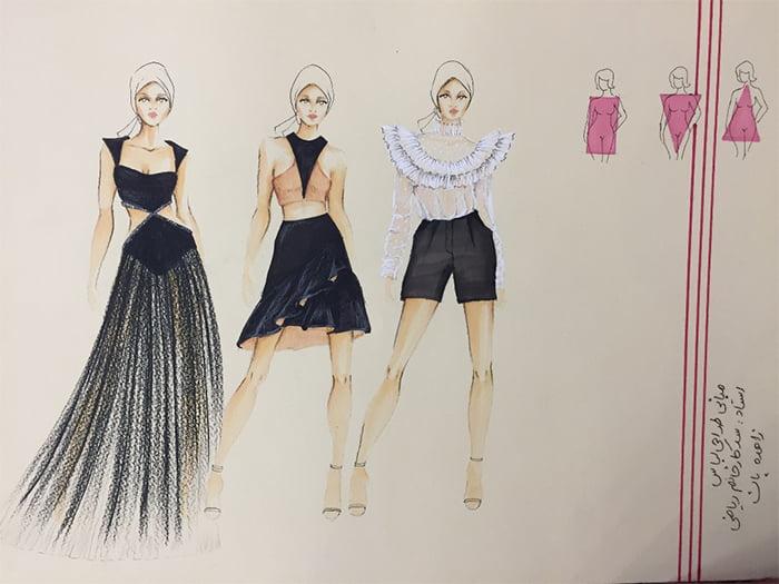 دوره طراحی مد و لباس