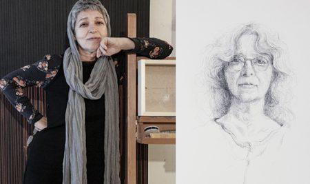 نگاهی بر نمایشگاه شهلا حسینی