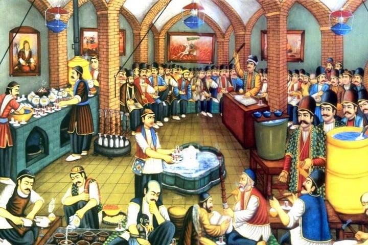 قهوه خانه های ایرانی