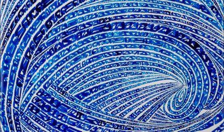 نگاهی بر آثار نقاشی خط در آثار چند هنرمند شاخص معاصر