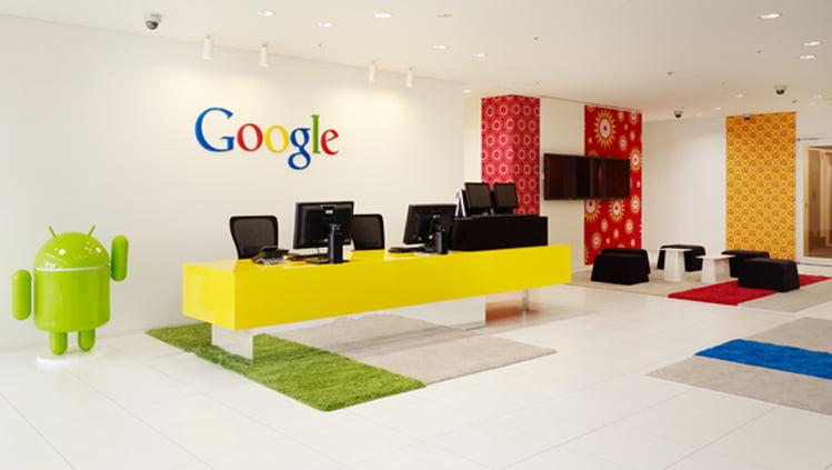 تصویر دفتر شرکت گوگل