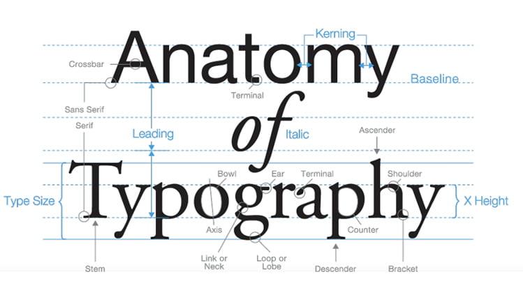 اصول تایپوگرافی